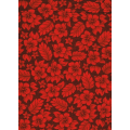 Sun Surf Sand - Floral Texture, Red