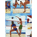 Sun Surf Sand - Volleyball Postcards
