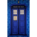 Tardis Quilt Kit - Dark Sky Background