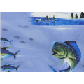 Tom Kelly - Print 4, Deep Sea - Blue